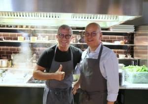 a pranzo con… Max Mariola Paolo Marchetti