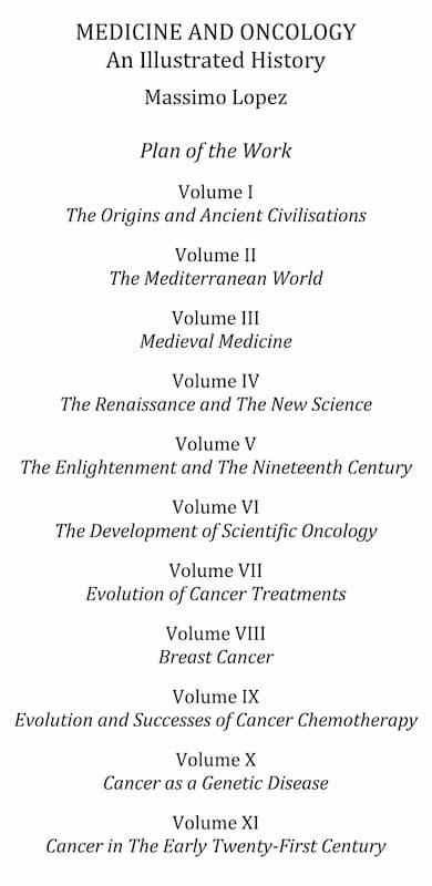 storia della medicina e dell'oncologia