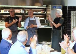 Max Mariola e il Prof. Paolo Marchetti cucineranno insieme